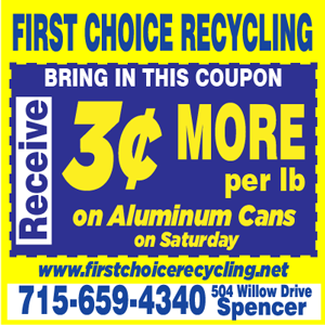 First Choice Recycling – Square – Save 3 Cents