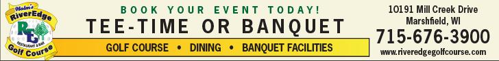 RiverEdge Golf banner